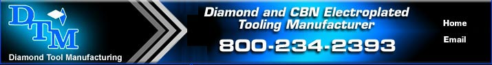 Diamond Tool manufacturing